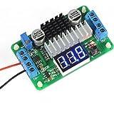 DROK® LTC187 DC Boost Converter 3.5-30V 100W Alimentation Régulateur de tension 5V / 12V Step Up Module Volt avec voltmètre Input / Alternate de sortie Affichage LED pour la voiture Motor Auto Moto, etc