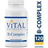 Vital Nutrients - B-Complex - Balanced High Potency B Vitamin Complex - Supports Energy Production, Metabolism and Heart Health - Gluten Free - 120 Vegetarian Capsules