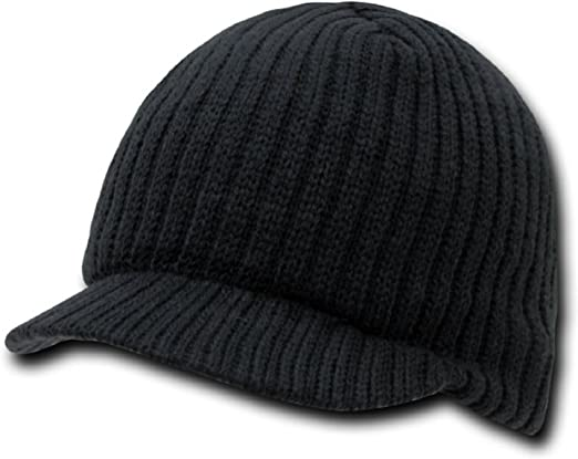DECKY Flat Top Jeep Cap Heather Charcoal
