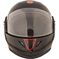 STARVIN RHHYN@X FULL FACE HELMET    BLACK COLOR    Medium Size    ISI APPROVED    WITH HYDROGRAPHICS    Unbreakable PC Visor with Double Layer Silicon Hardcore Coating    Scratch Resistant    MODEL- JETTY