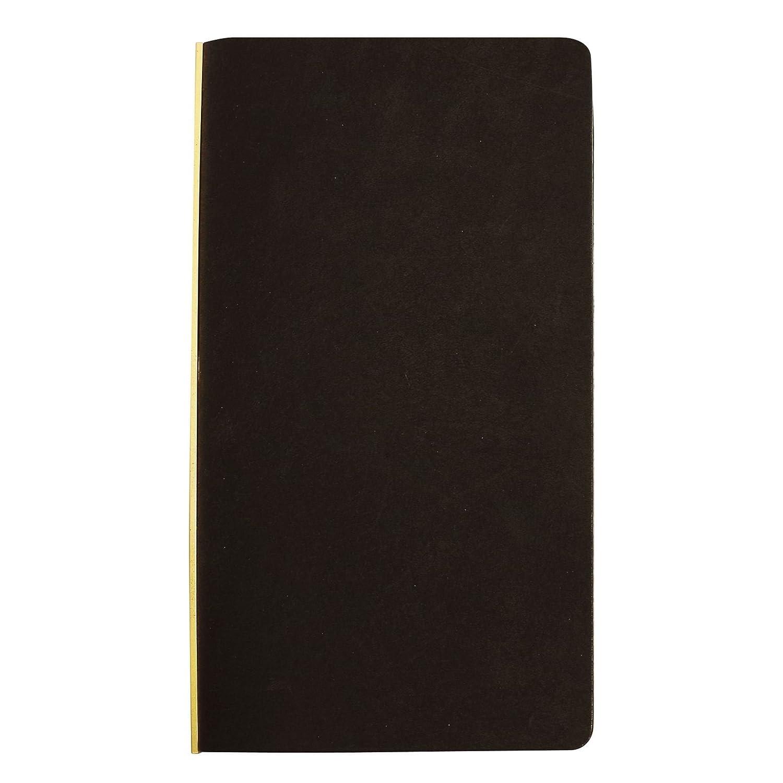 ナローサイズ プロッター プエブロ リング径11mm【ブラック】レザーバインダー/システム手帳 77   B077DHDRNQ