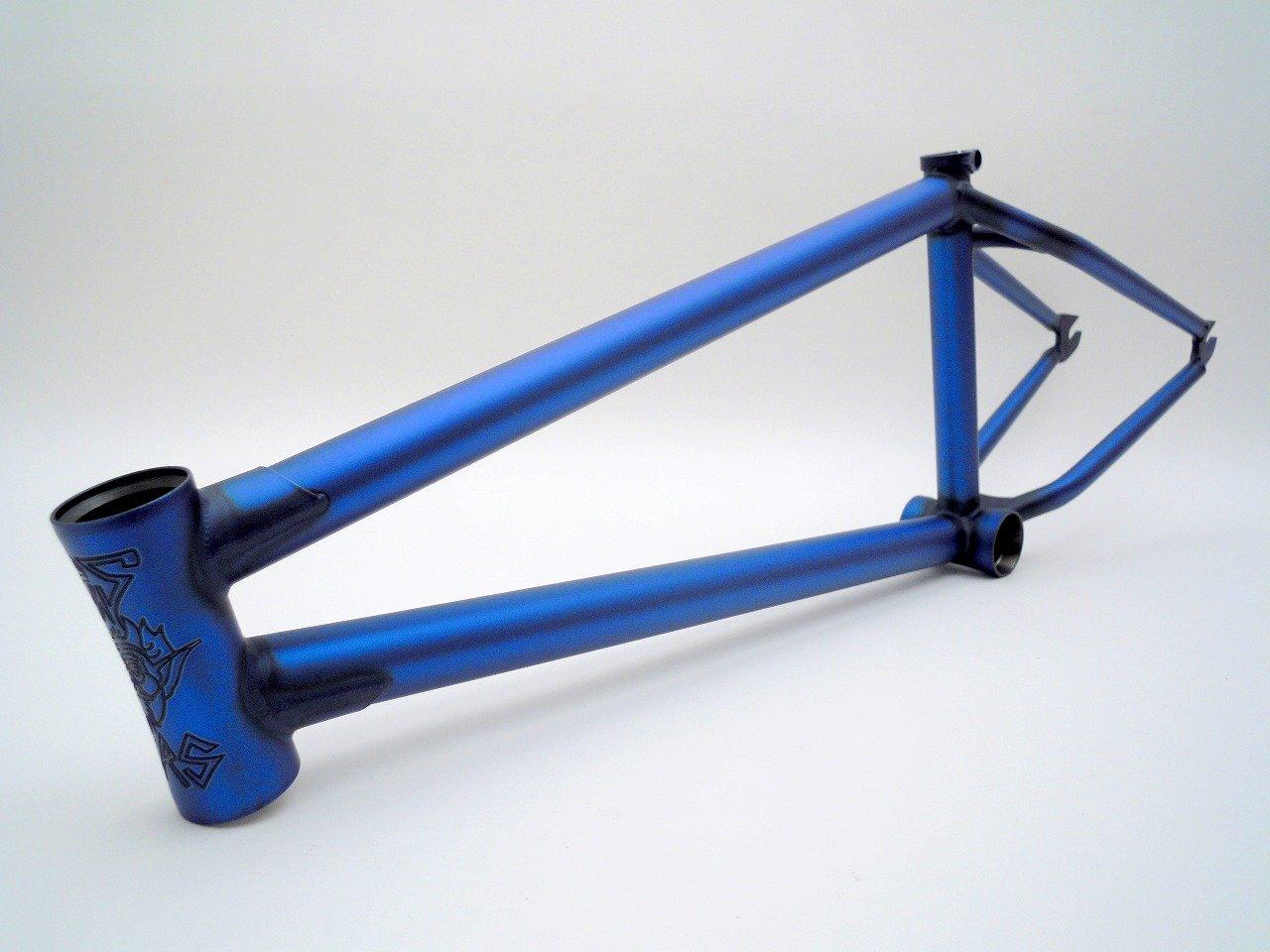 (BMX ストリート フレーム) STRESS BMX BES Frame マットトランスブルー TT20.25 B07DD8Y24R