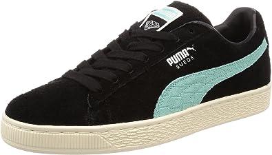 Puma Suede Hombre Zapatillas Negro