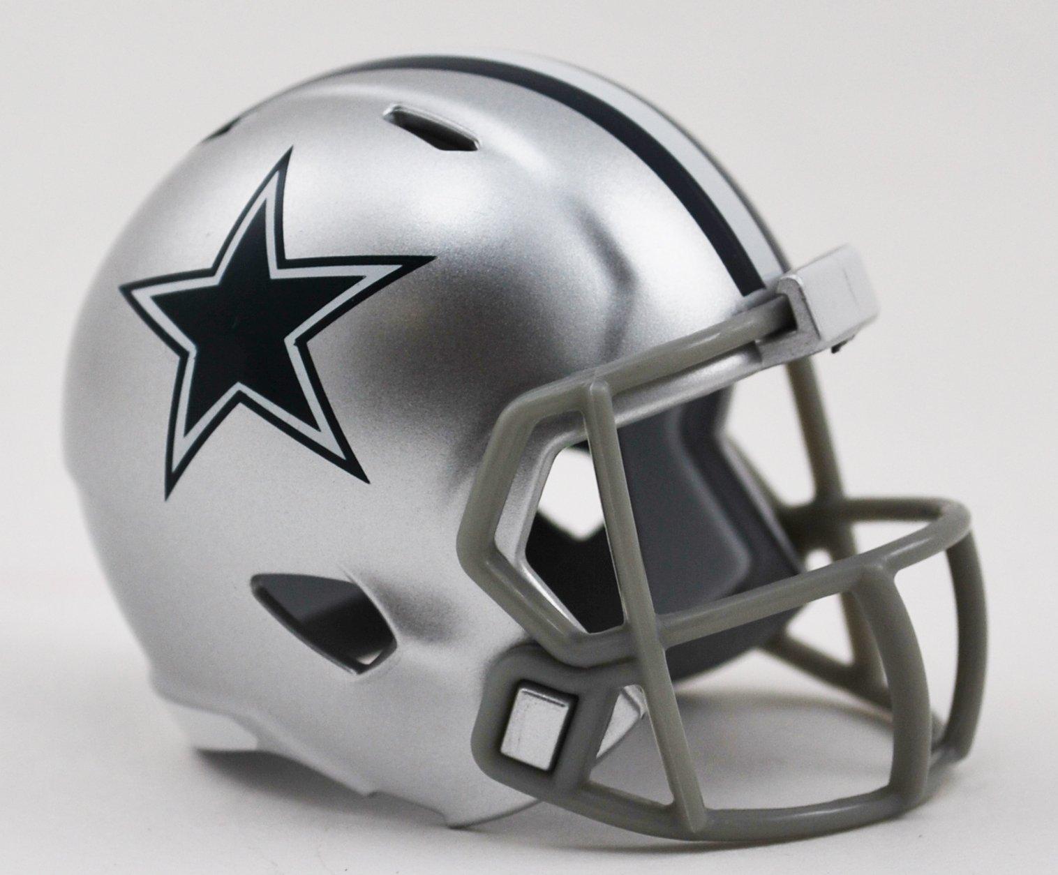 Dallas Cowboys Riddell Speed Pocket Pro Football Helmet New in package