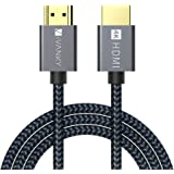 HDMI Cable 4K 10ft, iVANKY 18Gbps High Speed HDMI 2.0 Cable, 4K HDR, HDCP 2.2/1.4, 3D, 2160P, 1080P, Ethernet - Braided HDMI