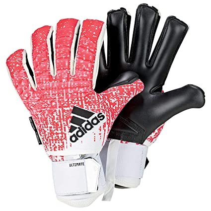 best service 11cc1 f0f8d Amazon.com   adidas Predator FINGERSAVE Ultimate Goalkeeper Gloves with  Finger Protection and Wrist Support for Soccer   Sports   Outdoors
