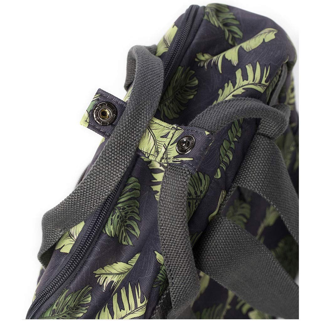 Color : Green, Size : 28.513.538cm Casual Simple Travel Canvas Backpack Kmgjc Fashion Women Rucksack