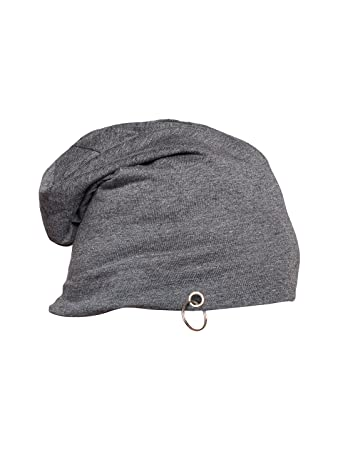 53479e9a963 Vimal Dark Grey Cotton Blended Free Size Beanie Cap For Men  Amazon ...