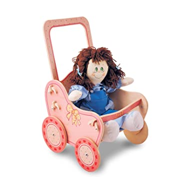 Amazon.es: Dida - Cochecito para muñecas de Madera ...