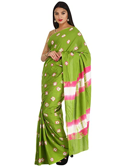 061ef299488c7b Handloom Palace Cotton Saree With blouse Piece (Color - Light Green):  Amazon.in: Clothing & Accessories