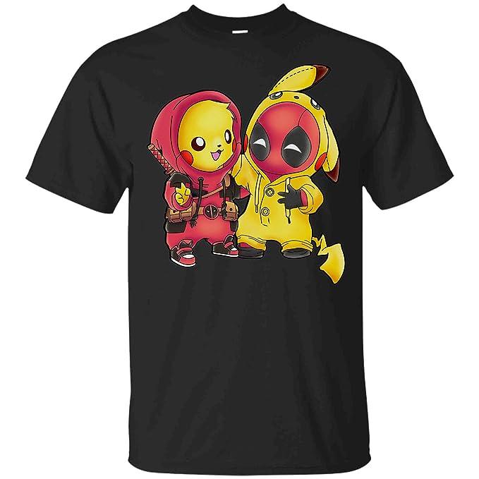 Amazon.com: Pikachu Pool Ninja - Camiseta de manga corta ...