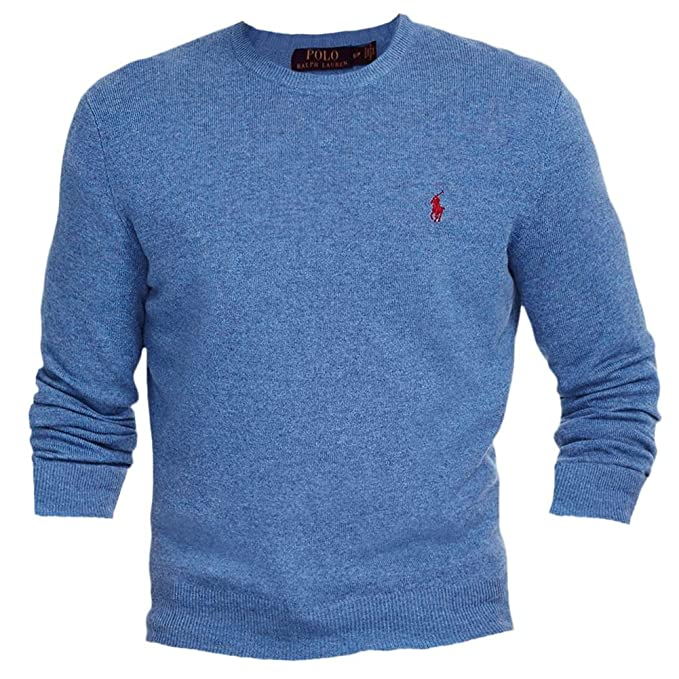 8f0543507a0 Polo Ralph Lauren Men s Merino Crew-Neck Sweater