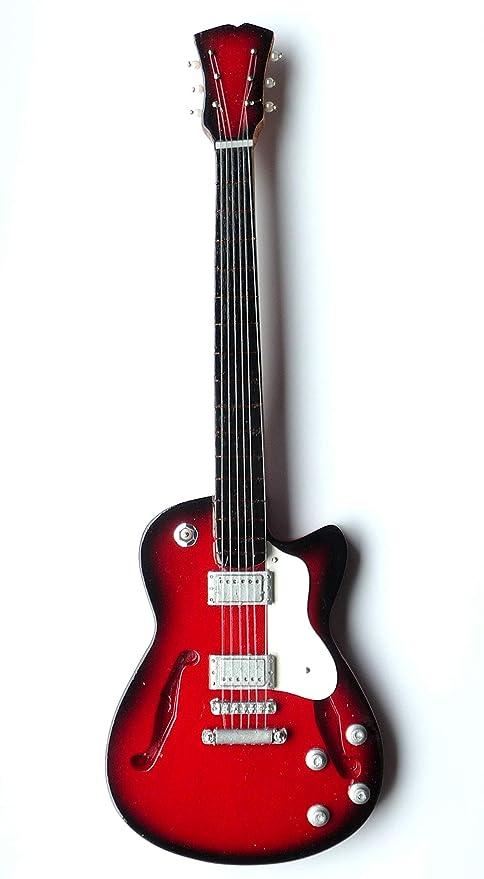 "Guitarra en miniatura Mini Guitar Gibson ""Custom Madera 24 ..."