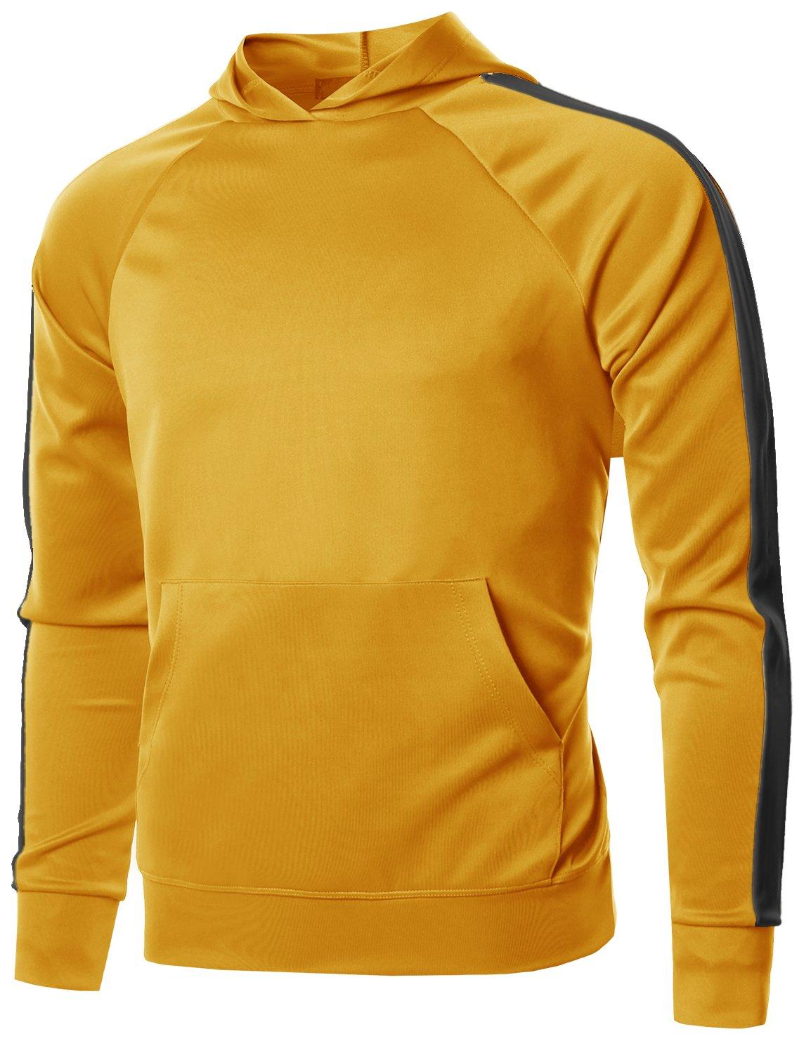 Style by William PANTS メンズ B07B8SXWH7 X-Large|Fsmhdl0008 Yellow Black Fsmhdl0008 Yellow Black X-Large