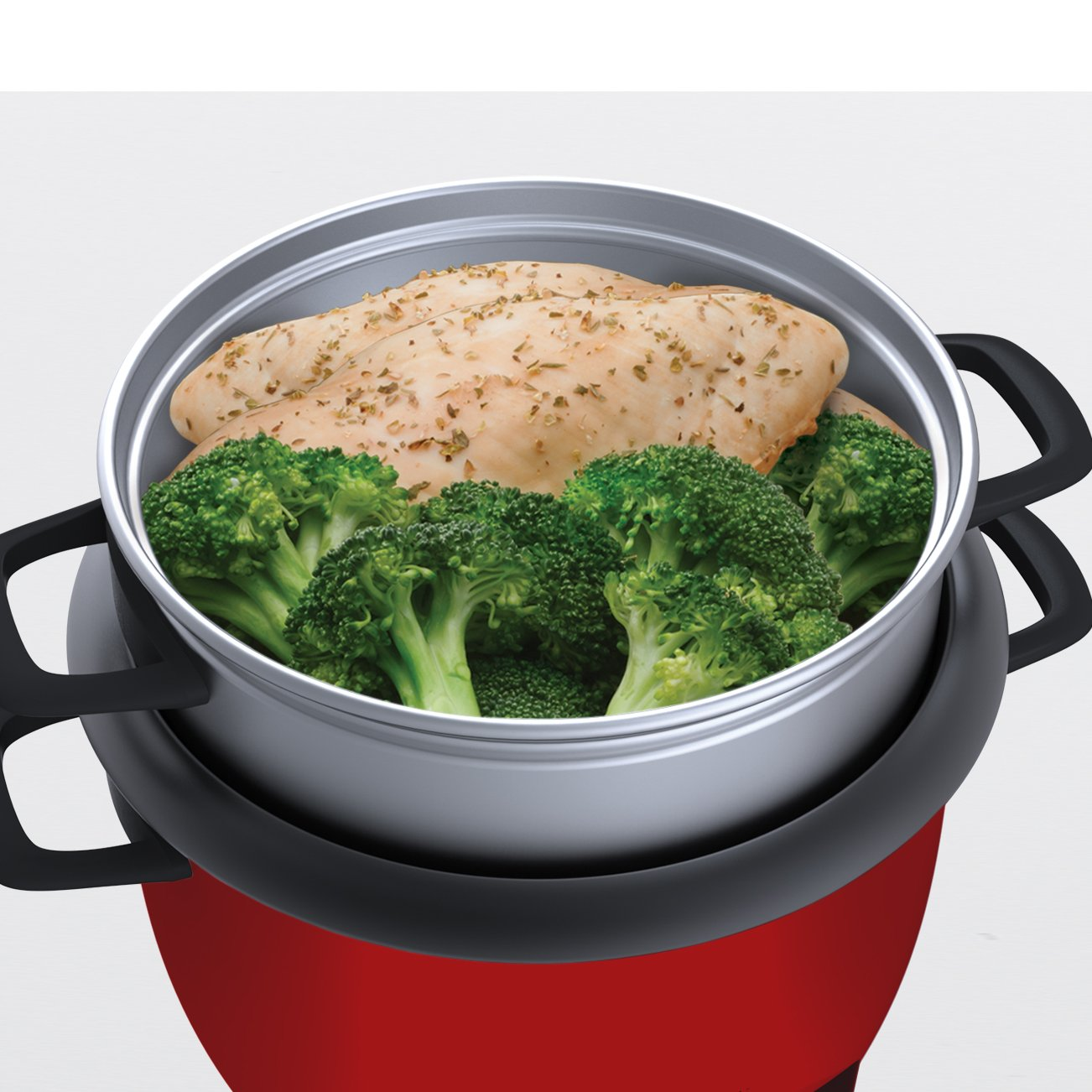 Aroma Housewares 6-Cup (Cooked) (3-Cup UNCOOKED) Pot Style Rice Cooker and Food Steamer by Aroma Housewares (Image #4)