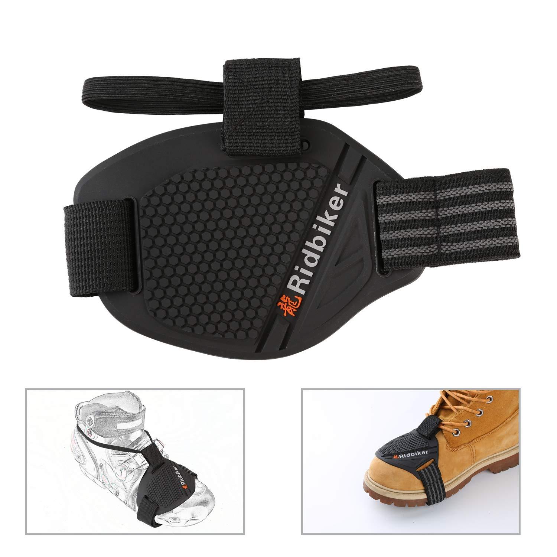 Ridbiker Motorcycle Motorbike Shift Pad Shoe Boot Cover Protective Gear Black Ⅰ