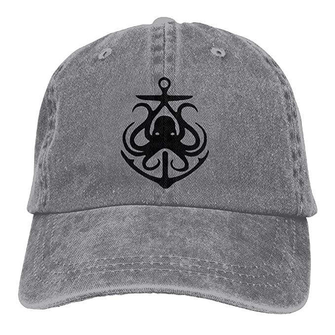 9f84519abed7a Amazon.com  Cowboy Caps Unisex Adjustable Dad Baseball Hat Octopus ...