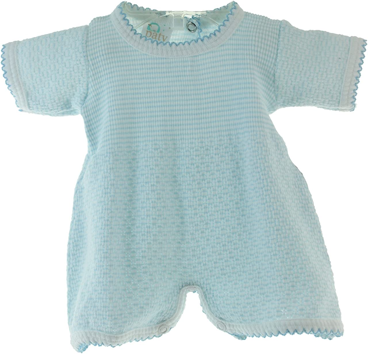 Paty Inc Boys Cotton Knit Blue Take Home Outfit Baby Clothes