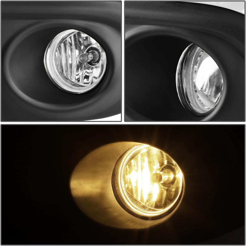 1 Pack DNA Motoring FL-ZTL-233-SM Driving Fog Lamps Driver /& Passenger Side Switch