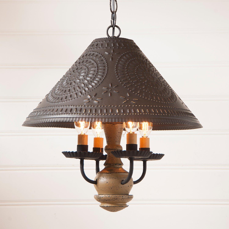 Homespun Shade Light in Pearwood