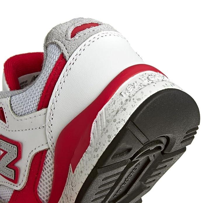 New Balance 530 Scarpe Bambino Ragazzo KL530RGP Sneaker Lacci Bianco Rosso  - Taglia 28  Amazon.it  Scarpe e borse 74011e2076a