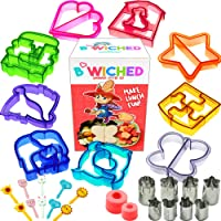 29pc Sandwich Cutter Set for Kids of All Ages - Turn Vegetables, Fruits, Cheese, and Cookie Into Fun Bites - Add to…