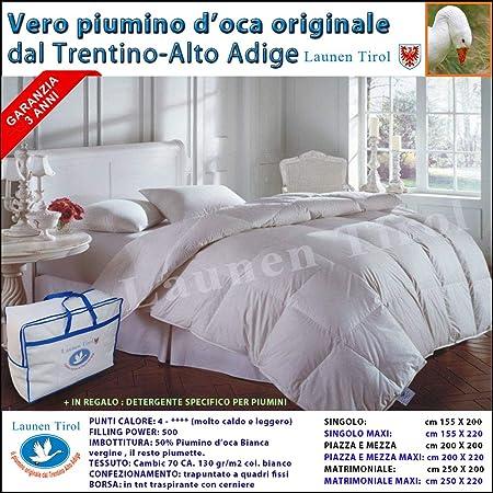 Trapunta Matrimoniale In Piumino D Oca.Piumone Piumino Invernale Matrimoniale 250 X 200 In Vera Piuma D