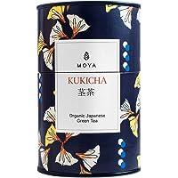 Moya Kukicha Té Verde Orgánico de Hojas Sueltas|