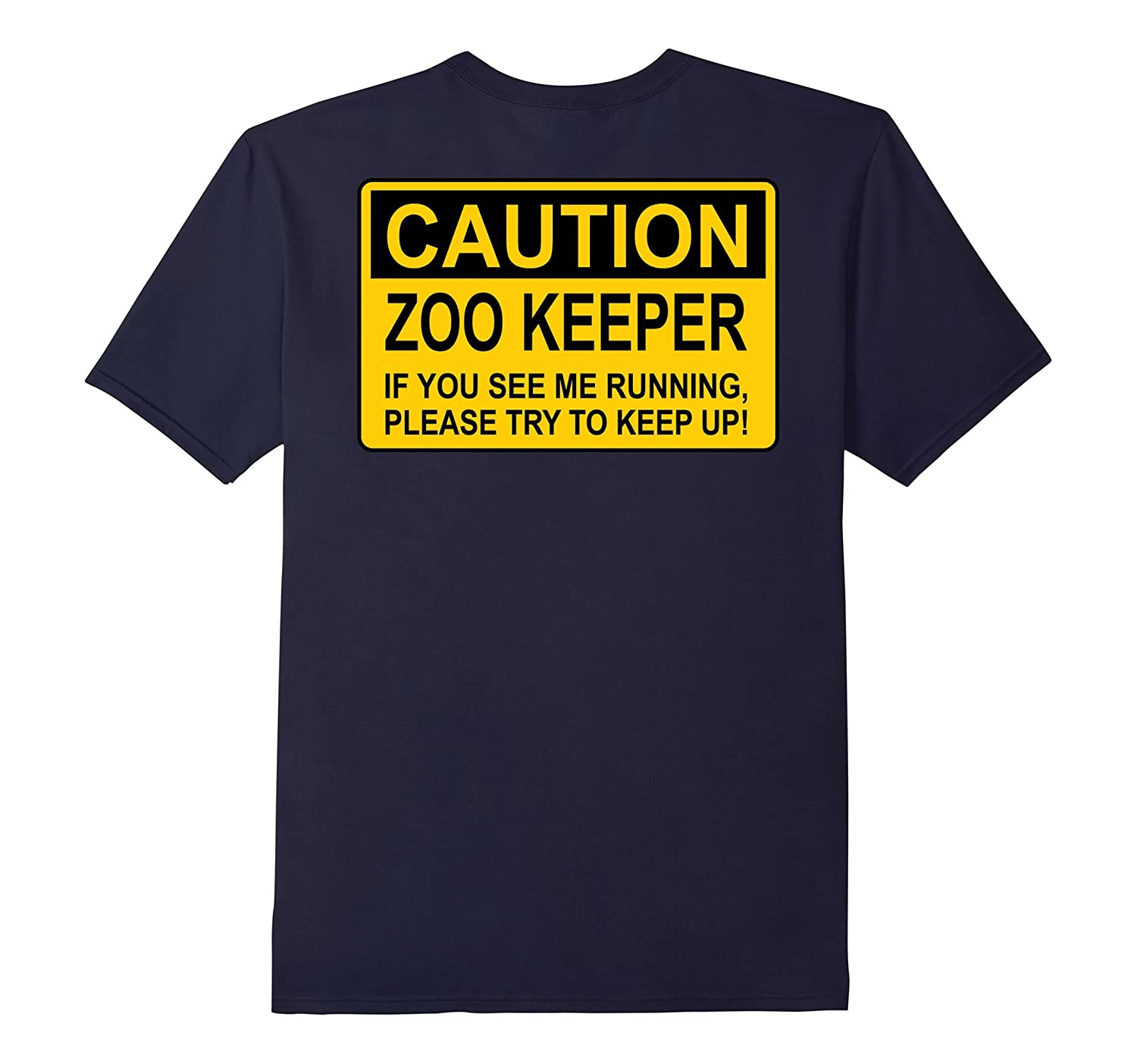 Zoo Keeper Shirt Funny T-Shirt for Zoo Keeper-TJ
