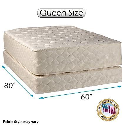 dream sleep highlight luxury firm queen mattress set - Firm Queen Mattress