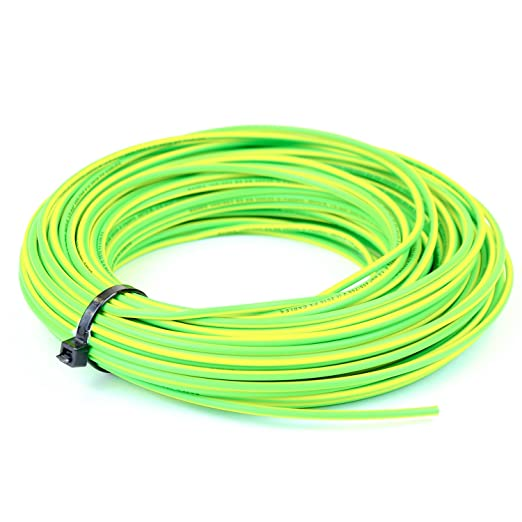 10 mm Single Core Conduit Cable 6491X Yellow / Green Supplementary ...