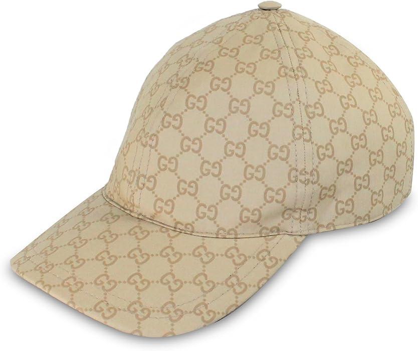 1ef7301bc38 Gucci GG Cotton with Signature Web Stripe Detail Baseball Cap