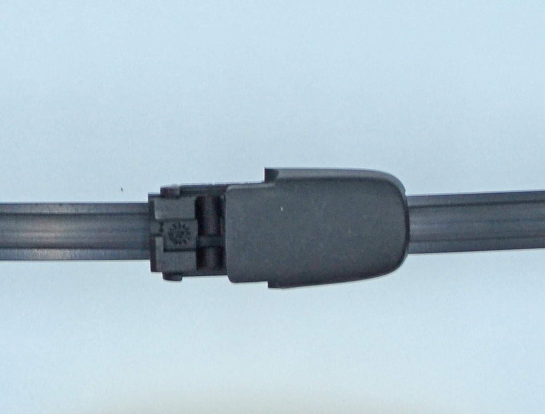 Limpiaparabrisas trasero de ajuste exacto 33 cm RB250: Amazon.es: Coche y moto