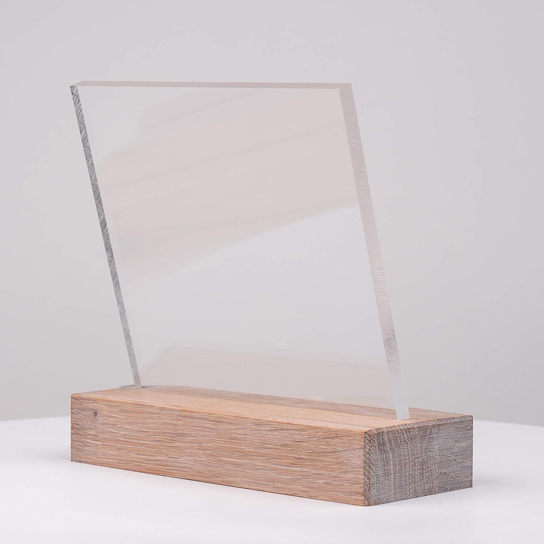 Zuschnitte |St/ärke 6 mm UV-Stabil Kanten unbearbeitet DOLLE Acrylglas XT F/ür Innen und Au/ßen PMMA | Glasklare Platte in 500 x 250 mm