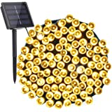 22 m 200 LED Cadena Luces Solares al Aire Libre, Impermeables IP44, 8 Modos Luces Solares para Patio, Terraza, Pabellón, Carp