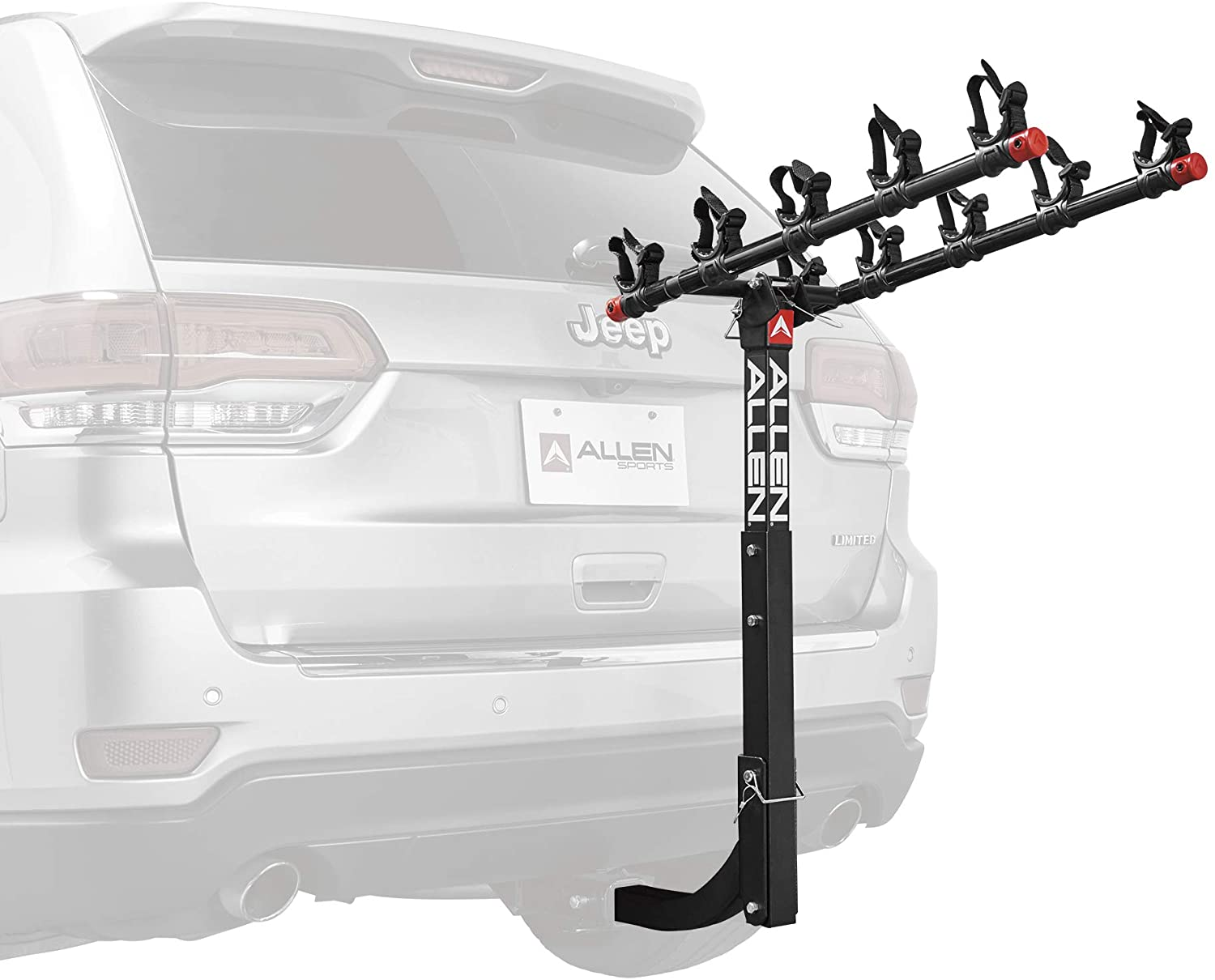 6. 5-Bike Hitch Racks by Allen Sports