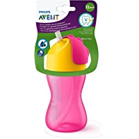 Philips Avent My Bendy Straw Cup, 300ml/10Oz/12M+ (Pink)