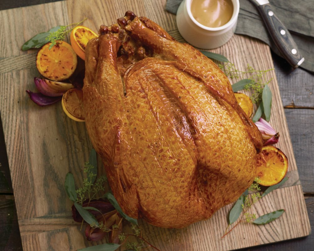 Kansas City Steaks 1 (9-11 lb.) Fully Cooked Hickory Smoked Whole Turkey