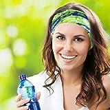 KALILY 12 PCS Headband Bandana - Versatile Sports