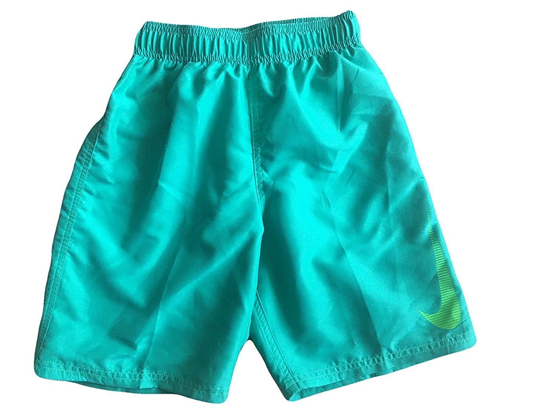 Nike Boys Board Shorts Trunks Swimwear (Green/Lime Swish, Medium) NESS8716-317