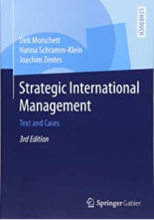 Understanding the theory and design of organizations international strategic international management text and cases fandeluxe Image collections