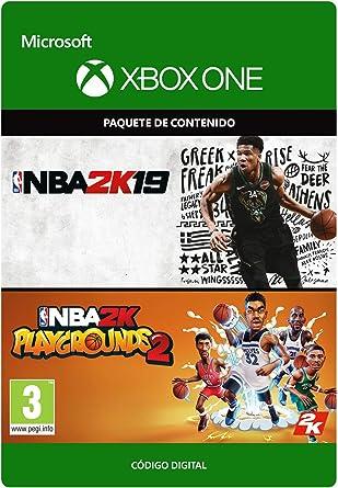 NBA 2K19 + NBA 2K Playgrounds 2 Bundle - Xbox One – Código de ...