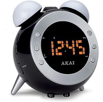 Akai AR280P Radio-Reloj proyector: Amazon.es: Electrónica
