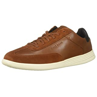 Cole Haan Men's Grand Crosscourt Turf Sneaker, British tan Leather 11.5 M US