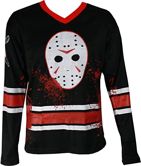 Changes Friday The 13th Jason Voorhees Faux Hockey Jersey
