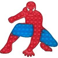 Pop it Big Size Push Jumbo Bubble Fidget Spider-Man Shapes Toy, Autism Special Needs Stress Reliever, Silicone Fidget…