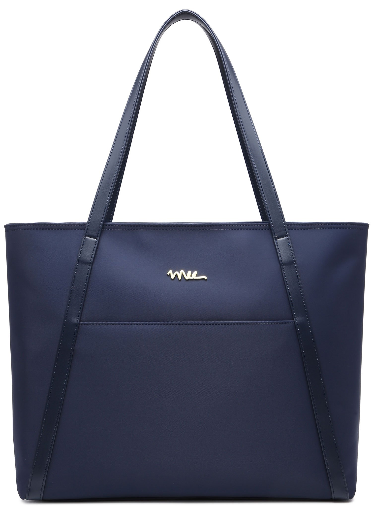 NNEE Large Water Resistance Nylon Travel Tote Shoulder Bag - Navy