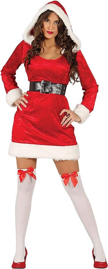 Disfraz de mama Noel adulta talla-S: Amazon.es: Juguetes y juegos