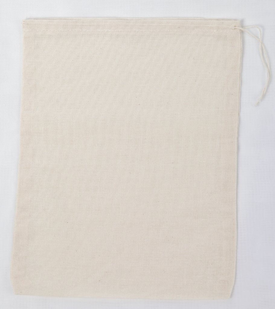 Cotton Muslin Bags 8x10 inches 10 count pack