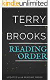 TERRY BROOKS SERIES ORDER AND CHECKLIST 2016: Shannara In Order